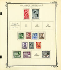 Somaliland & Southern Rhodesia Mostly Mint 1940s to 1950s Stamp Collection