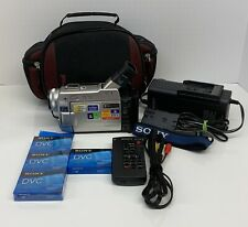 Sony Dvcam Minidv Camcorders For Sale Ebay