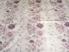New Laura Ashley Clarissa Curtains Purple Width 125 CM Drop 160 CM