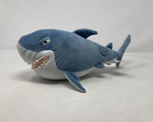 Disney Store Stamped Bruce Shark Finding Nemo Soft Toy Plush Rare