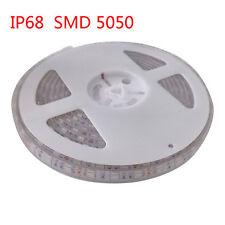 5M Waterproof IP68 300 LED Strip Light 5050 SMD String Ribbon Tape Roll 12VDC