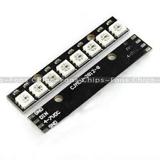 New 8 Channel WS2812 5050 RGB 8 LEDs Light Strip Driver Board for Arduino Black