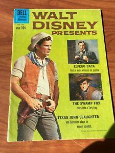 Walt Disney Presents #6 Dell Comics 1961 VG