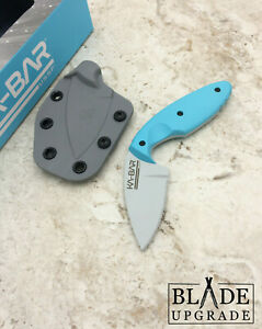 Ka-Bar USSF TDI Astro MP AUS-8A Blue Zytel Handle Fixed Knife w/Sheath 1480SF