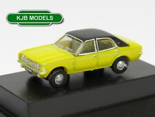 BNIB N GAUGE OXFORD DIECAST 1:148 NCOR3002 CORTINA MKIII DAYTONA YELLOW CAR