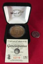 HIGHLAND MINT BRONZE MEDALLION NOMAR GARCIAPARRA LIMITED EDITION COA /25000 COIN