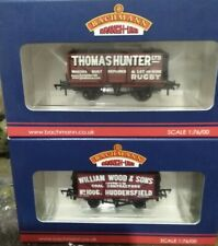 Bachmann Wagons... X2 Brand New Rare Collectors Edition... + 8 Plank... Cheapest