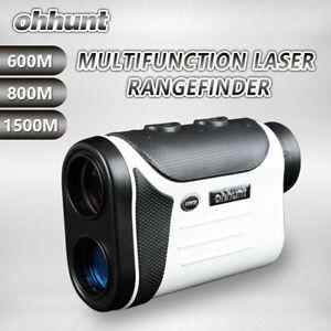 ohhunt Multifunction Laser Rangefinders 8x 600M 800M 1500M Outdoor Hunting Golf