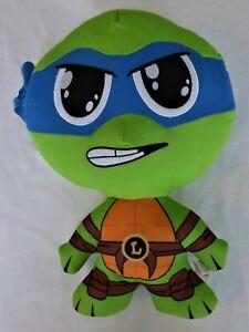 TEENAGE MUTANT NINJA TURTLES Leonardo 18 Inch Pillow Stuffed Animal Plush TMNT