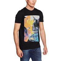 Bring Me The Horizon Men's Painted T Shirt - Medium, Black - Mens Bmth T