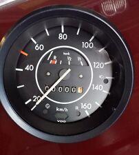 VW Käfer 1303 Tacho neue Nadelform 100 Meterzähler neues Glas neuer Ring