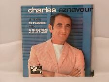 Charles Aznavour – Le Temps                   Barclay – 70 704