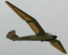 Go-3 Minimoa Goppingen Glider Airplane Wood Model Replica Small Free Shipping
