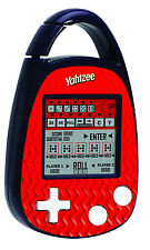 YAHTZEE Handheld ELECTRONIC Game Clip-on Dice Die Carabiner Hasbro Basic Fun NEW