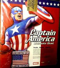 Marvel Comics Ultimate Captain America Limited Bust Statue Diamond Select #9/500