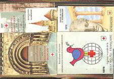 CARNET CROIX ROUGE 1970 A 74 NEUF ** SANS CHARNIERES COTE 55,00 €