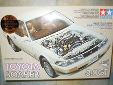 Tamiya 1/24 Toyota Soarer 3.0 GT Model Car Kit #24064