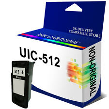 PG-512 Txt Quality Black NON-OEM Ink Cartridge Replace for Pixma MP490 MP492 495