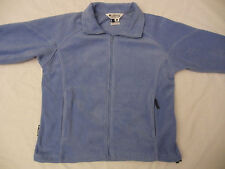 Columbia Sportswear Fleece Jacket Coat Blue Women's L Large