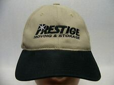 PRESTIGE MOVING & STORAGE - EMBROIDERED - ADJUSTABLE BALL CAP HAT!