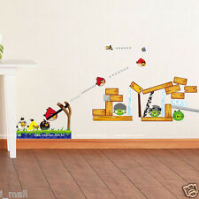 FEATURE ANGARY BIRD Kids Removable Wall sticker decal for Kids & Nursery