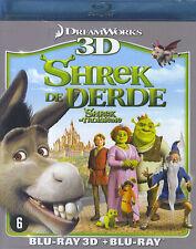 Shrek de derde / Shrek le troisième (Blu-ray 3D &  Blu-ray)