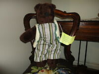 OOAK BEAR Canada Artist Nancy Chisling BEAR-RE-DO  Handmade 16 inch