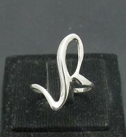 STYLISH LIGHT PLAIN STERLING SILVER RING SOLID 925 NEW SIZE G - Z