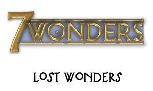 ●•• 7 Wonders ••● ✩ 37 fan-made Lost Wonders ✩ NEU & in bester Qualität! ✔ ツ