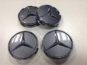 A22040001257756 Mercedes AMG Nabendeckel Radnabendeckel himalaya grey Titangrau