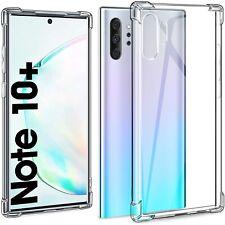 COVER per Samsung Galaxy Note 10 Plus Silicone TPU Dual Layer + Vetro Temperato