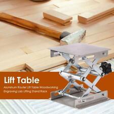 Aluminium Router Hubtisch Holzbearbeitung Graviermaschine Lab Carving Hubständer