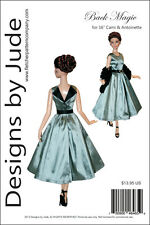 """Back Magic Doll Clothes Sewing Pattern 16"""" Cami & Antoinette Dolls Tonner"""