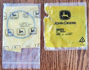 2 John Deere Original Equipment rubber ring seal packing #R65551