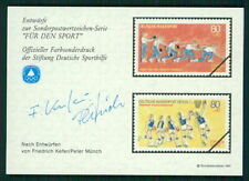 GERMANY SPORTS AID OLYMPIC COMMITTEE UNISSUED DESIGNS BASKETBALL BOWLING m2345