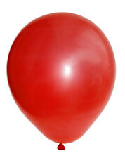 LOT DE 10 BALLONS ROUGE Diam : 25 cm