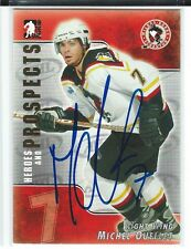 Michel Ouellet Signed 2004/05 Heroes and Prospects Card #42