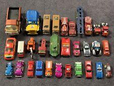 Mixed Lot of 30 Vintage Tonka & Tootsie Toy Cars Trucks Diecast Pressed Steel