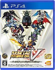 USED PS4 Super Robot Taisen Wars Game V Premium Anime Song & Sound Edition JAPAN