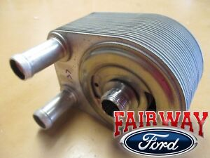 03 thru 14 Econoline OEM Ford 4.6L & 5.4L Oil Cooler Filter Adapter Housing NEW