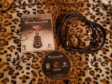 Rocksmith Playstation 3 Game Bundle With Real Tone Cable PS3 Complete Manual