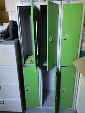 More details for used lockers 3x2 approx 180cm x 91cm x 45cm