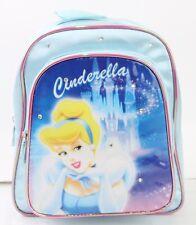 The New Disney Princess Cinderella Girls 10'' Mini Backpack Kids School Bag