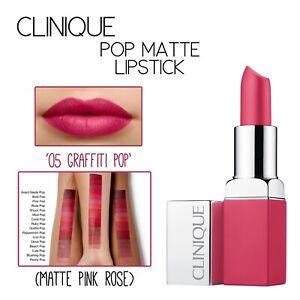 CLINIQUE Pop Matte Lipstick-05 Graffiti Pop
