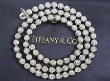 Tiffany & Co 5ct Carat Diamond Platinum Chain Necklace  £30k Ring