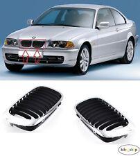 BMW SERIE 3-1998 2001 NUOVO Paraurti Anteriore Griglia Radiatore Superiore Sinistro N//S