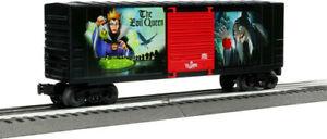Lionel Trains - Disney Villains Evil Queen Hi-Cube Boxcar, O Gauge (Large Item,