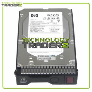 "652620-B21 HP 600GB SAS 15K 6G 3.5"" SC Hard Drive 533871-003 652617-002 *Pulled*"