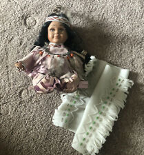 Vintage Porcelain Native American Cathay Doll Ltd Editon Of 5000