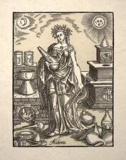 Spirit of Alchemy Art Print Alchimia Esoteric